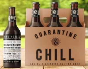 Quarantine and Chill Beer Carrier