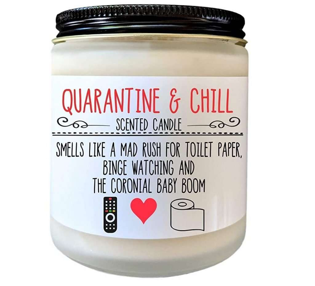 Quarantine and Chill Candle