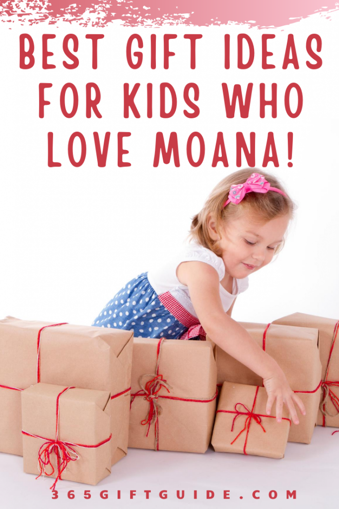 Gift Ideas for Kids Who Love Moana