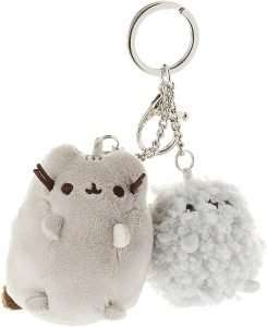 GUND Pusheen and Stormy Plush Deluxe Keychain Clip