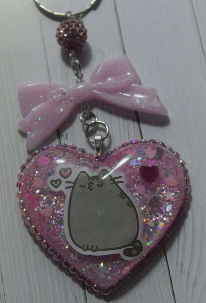 Kawaii Pusheen Keychain