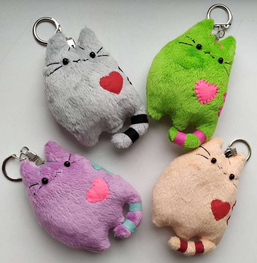 Plush Pusheen Keychain