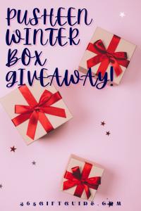 Pusheen winter box giveaway