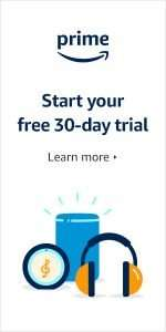 Start your free 30 day trial of Amazon prime