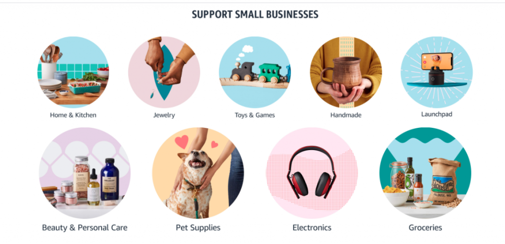 support small businesses, Amazon prime day