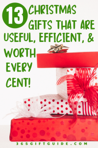 13 Christmas Gifts that are Useful, Efficient, & Worth Every Cent