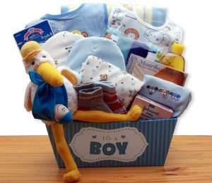A Special Delivery New Baby Gift Basket