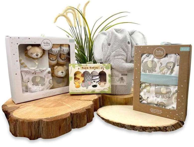 Animal Safari 11-Piece Gift Set