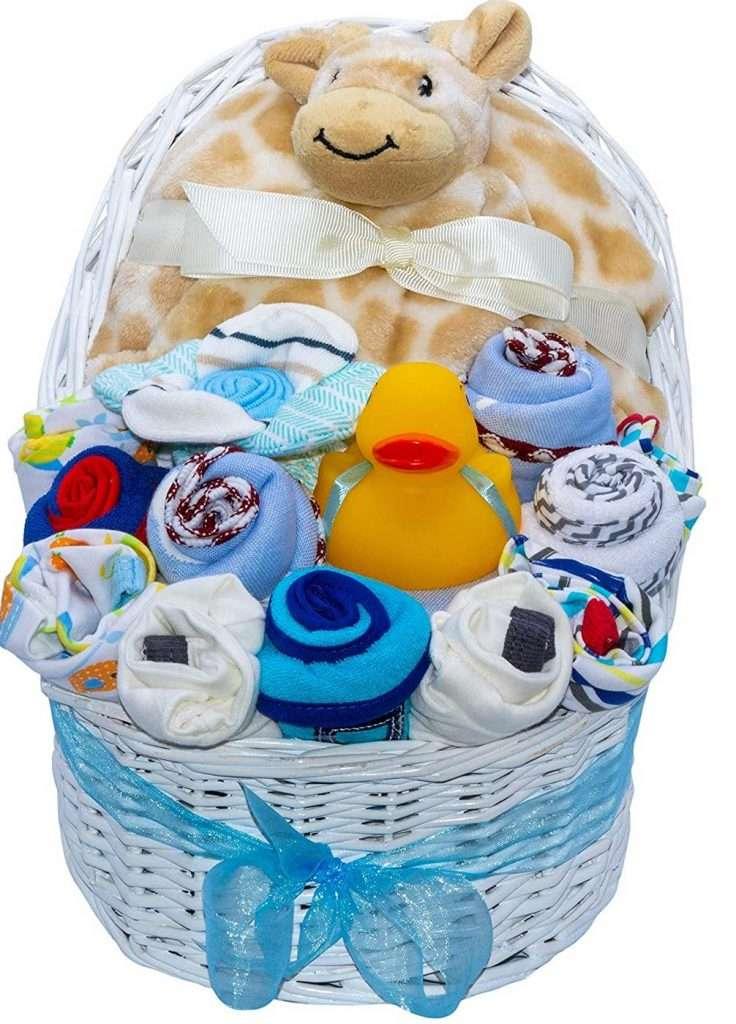 Baby Bassinet Gift Basket