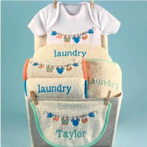 Baby Laundry Baby Gift Basket