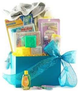 Bath Time for Baby Gift Basket