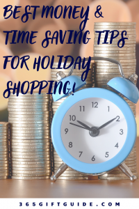 Best money and time saving tips for holiday shopping