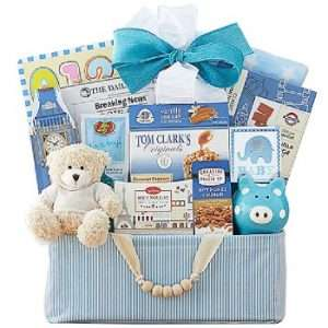 Celebrate New Life Baby Gift Basket