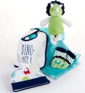 Dinosaur 5-Piece Welcome Home Gift Set
