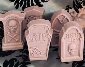 Handmade Creepy Halloween Soaps
