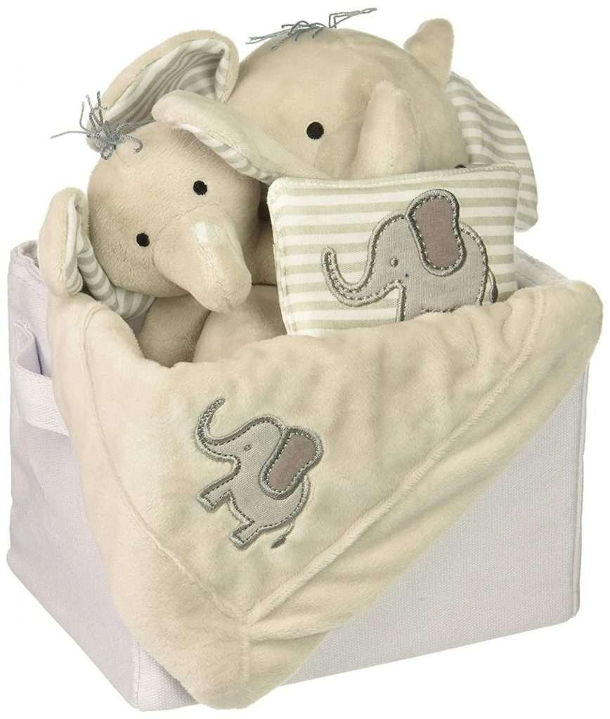 Little Peanut Elephant Baby Gift Basket
