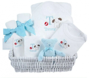 Luxury Layette Baby Gift Basket