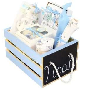 Personlized Baby Boy Gift Basket