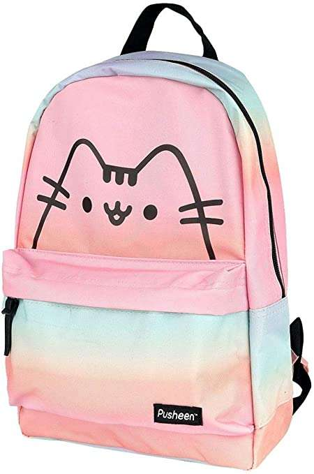 Pusheen See Ya Face Pink Backpack