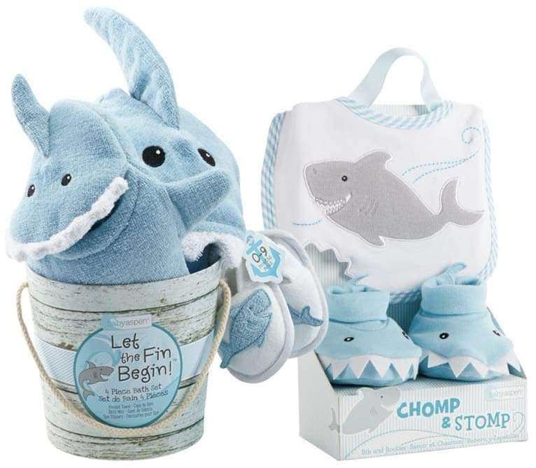 Shark Baby 6-Piece Gift Set for a Boy