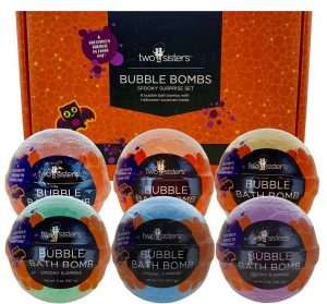 Spooky Bubble Bath Bombs for Kids
