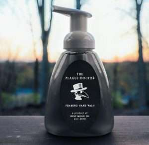 Spooky Plague Doctor Foaming Hand Wash
