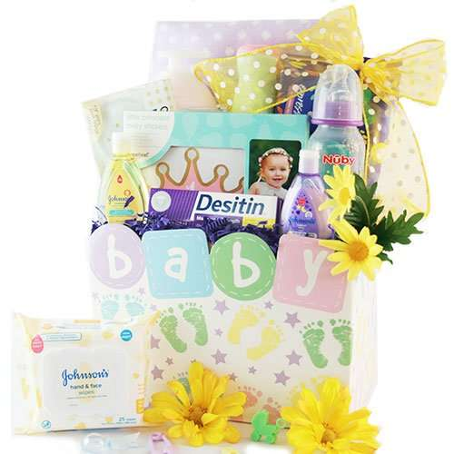 Tiny Traveler Baby Gift Basket