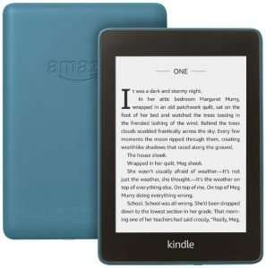Waterproof Paperwhite Kindle For the Bookworm