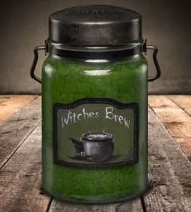 Witches Brew Candle Jar