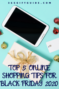 Top 5 Online Shopping Tips For Black Friday 2020