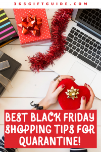 Best Black Friday Shopping Tips for Quarantine. Black Friday 2020 is still happening