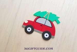Christmas Tree Car Craft Finished