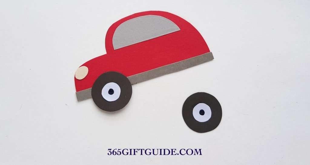 Christmas Tree Car Craft Step 5