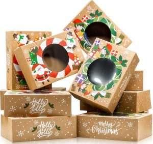 Christmas desert gift boxes