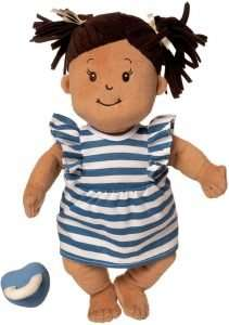 Manhattan Toy Baby Stella Beige with Brown Hair