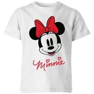 Minnie Face Kids' T-Shirt