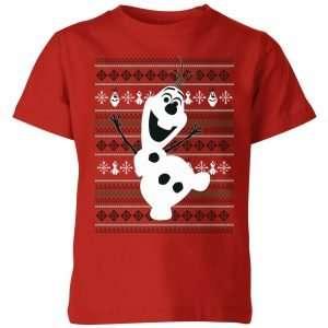 Olaf Dancing Kids' Christmas T-Shirt