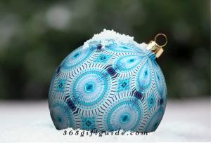 Ornament Snow Family