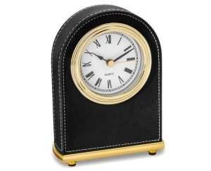 Personalized Round Desk Clock