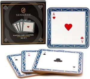 Playing Card Cork Coasters