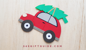 Simple Christmas Tree Car Craft