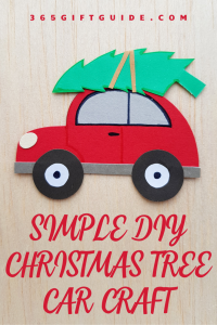 Simple DIY Christmas Tree Craft Activity