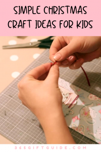 Simple christmas craft ideas for kids