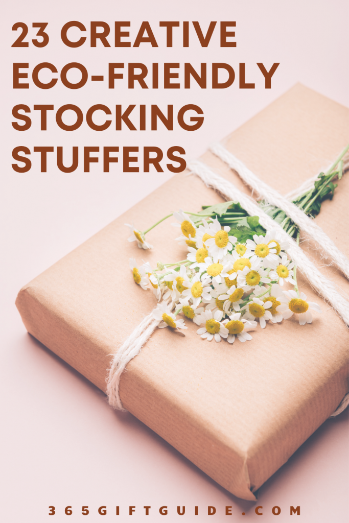 23 Creative Eco-friendly Stocking Stuffers