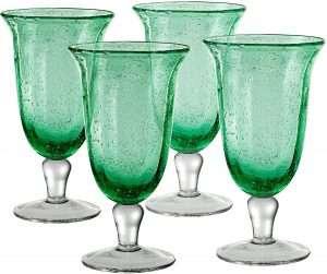 Artland Savannah Bubble Glass Goblet Set