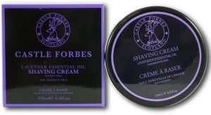 Castle Forbes Lavender Oil Shaving Cream