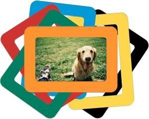 Colorful Magnetic Photo Frames