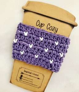 Crochet Coffee Cozy