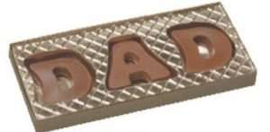 DAD Chocolate Box Letters
