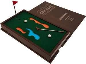 Executive Mini Desktop Golf Game
